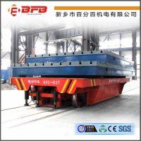 低压电动平板车可在铸造车间使用 可以配合物料转运设备