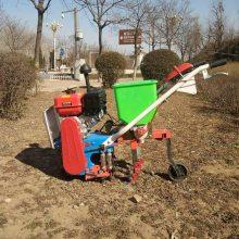 玉米施肥器 自走式田地作物除草机 厂家培土耘播机