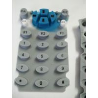 YF搖控器硅膠按鍵開模定做導電硅膠按鍵