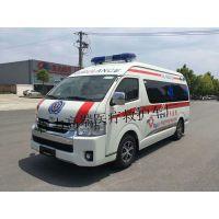 程力救護車廠家長期供應進口豐田大海獅5680×1880×2570高頂120救護車