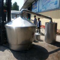 供应2019新款白酒设备 玉米酒蒸酒锅做酒小型酒锅 酒生产设备