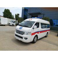 福田G7高頂5320×1695×2435轉運型救護車廠家配置