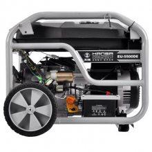 小型静音5kw汽油发电机 单相220V发电机