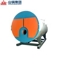 山锅集团WNS6-2.5-Y(Q)冷凝式全自动燃天然气蒸汽锅炉