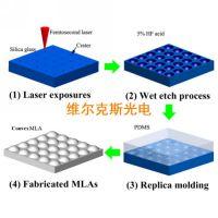 国产微透镜阵列 衍射元件 光纤耦合微透镜阵列 精度高 品质稳定