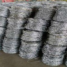 刺丝防护网 刺丝网围栏价格 镀锌刺绳