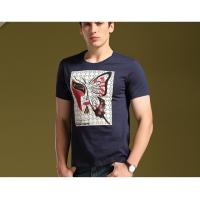 北京商务品牌男装尾货批发货源厂家直销T恤数码印花、T恤直喷