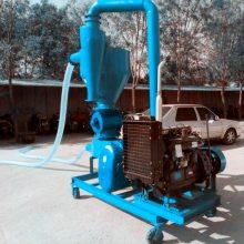 兴运抽粮机生产厂家 车站码头用粮食装车气力输送机