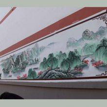 吉安井冈山安福遂川永新吉水万安彩绘手绘墙画墙绘涂鸦壁画!