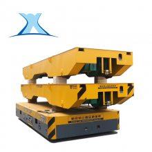 可定制1-300T运输锻压件装载机械运输轨道拖电缆电动搬运车-新乡百特