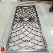 佛山雕刻厂家 欧式铝浮雕屏风 仿古铜铝雕隔断加工 12mm浮雕黄铜