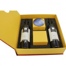 专业定做 设计保健品精装盒定制 蜂蜜燕窝书形翻盖礼盒设计定制