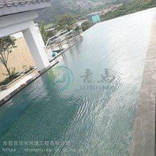 大连爱克游泳池工程 户外花园游泳池工程改造