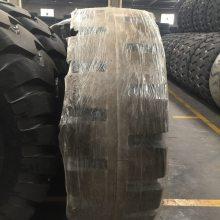 钢圈配套实心铲车轮胎23.5-25铲车装载机实心轮胎17.5-25