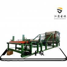 江苏生产厂家水胶复合机 玻璃纤维(玻纤布)粘合机 水胶油胶三合一水胶机 EVA皮革海绵复合机