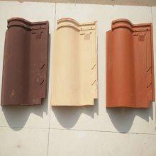 山东淄博琉璃瓦厂 波形屋顶瓦 罗曼瓦 全瓷瓦 品种齐全、欢迎选购