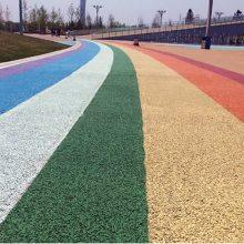 漳平市室外运动场透水路面|龙岩彩色透水混凝土规格