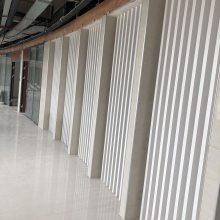 木纹色铝方通加工厂家 室内吊顶工程铝方通天花