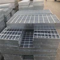 承重水沟盖板 钢格板沟篦子 钢盖板规格
