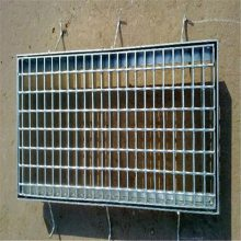 下水道沟盖板 钢结构平台踏步格栅 平台踏步板