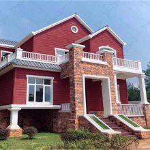 河北预制装配建筑 轻重钢结构别墅