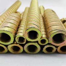 杭州铁路固件 螺纹钢套筒出售 建设地铁五金材料