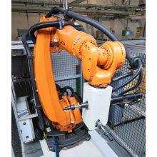 潍坊大世机器人拧螺丝 发动机连杆盖拧紧