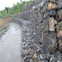 高锌包塑pvc铅丝笼 防汛用铅丝笼 锌铝石笼网现货供应