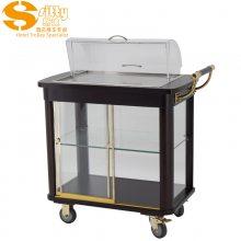 专业生产SITTY斯迪95.8612简约现代木质酒水车/服务车/点心车