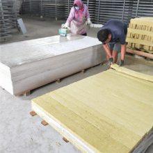 硅酸钙岩棉外墙保温板实体厂家 A级防火岩棉纤维芯材 复合型保温制品