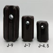 拉紧瓷瓶J-7 拉线瓷瓶 矿山架线绝缘子