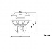iDS-2VPD12-A440-DV/SP/T2(2.8mm) 海康威视星光级180°全景拼接智能球