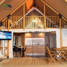 贵州酒店帐篷厂家 生态园民宿帐篷酒店定制 田园风格创意野奢帐篷