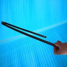 广纳1030刻章机塑料拖链小型激光打标机电缆走线伸缩槽