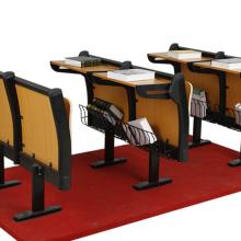 北京学校阶梯教室连排椅 钢木结构连排椅