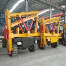 936装载机加装高速护栏打桩机高速护栏打拔钻一体机可选多种锤头空压机