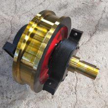 直径250/350/400/500天车驱动车轮组 双轮缘车轮组