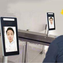 大屏展示 人脸识别考勤门禁一体机 捷易科技D701 全屏展示更清晰