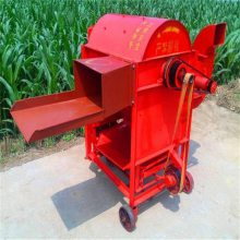 吉林家庭农场脱粒机 柴油机动力脱粒机 多功能打谷机
