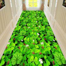 水晶绒印花地毯定制 彩色印花沙发茶几床边瑜伽垫家用毯可机洗
