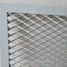 吊顶铝板网 加边框 烤漆 装饰 支持定制 菱形 六角孔