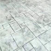 镇江水泥压花地坪价格 江苏 镇江地区材料配送 工程施工