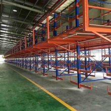 重庆阁楼货架 钢平台货架 悬臂立体货架 货架厂供应
