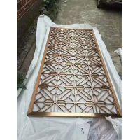 不锈钢花格厂家订制,装饰不锈钢隔断厂家