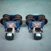 供应优质 3t电动葫芦运行车轮 葫芦主副运行跑车轮