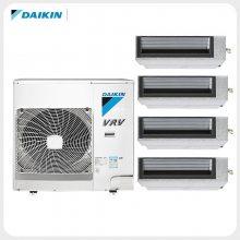 北京大金家用中央空调 DAIKIN大金空调5匹一拖四一拖五 大金风管机