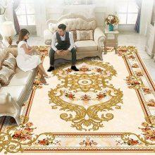 家用厨房 水晶绒印花地毯厂家 *** 津软地毯
