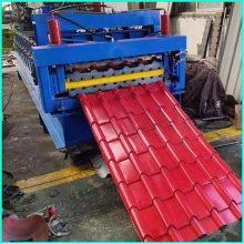 彩瓦压瓦机 900彩瓦双层彩钢瓦成型机 琉璃瓦压瓦机生产厂家