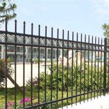 河南护栏 锌钢围墙护栏 草坪小区铁艺栏杆学校庭院锌钢护栏可定做