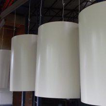 半圆形包柱铝单板-曲面弧形氟碳铝单板-室内氟碳包柱铝单板